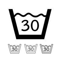 Wasserij symbool pictogram vector