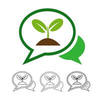 Plant boom pictogram vector