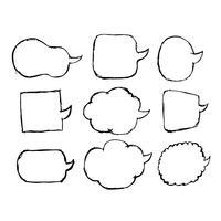 Icona a fumetto disegnato a mano