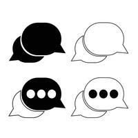 tekstballon pictogram