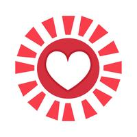 Heart vector icon