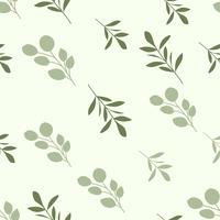 Beauty soft seamless floral pattern