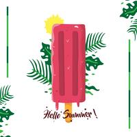 Felice estate vettoriale