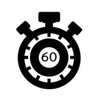 Zeichen der Stoppuhr-Symbol