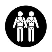 Swimming Suit People Icon