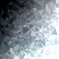 Gray White Polygonal Background, Creative Design Templates vector