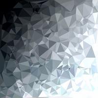 Gray White Polygonal Background, kreative Design-Schablonen