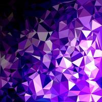 Purpurroter polygonaler Mosaik-Hintergrund, kreative Design-Schablonen