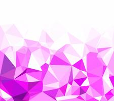 Purple Polygonal Mosaic Background, Creative Design Templates