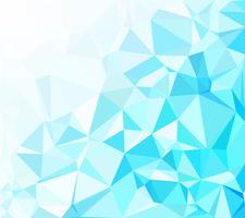 Blue Polygonal Mosaic Background, Creative Design Templates