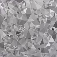 Gray Polygonal Mosaic Background, Creative Design Templates