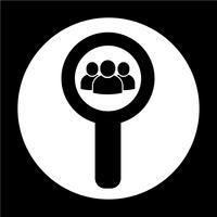 Signe de l'icône de l'utilisateur