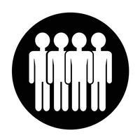 Sinal de pessoas ícone