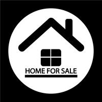 Home For Sale-pictogram