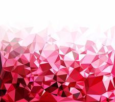 Fundo do mosaico poligonal vermelho, modelos de Design criativo