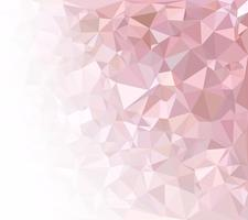 Pink Polygonal Mosaic Background, Creative Design Templates