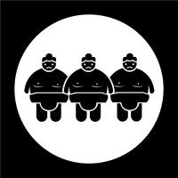 sumo wrestling people icon