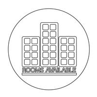 Rum tillgängligt ikon