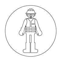 Worker People Icon