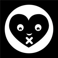 Heart Face Emotion Icon
