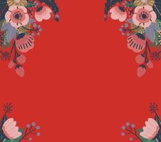 Kleurrijk abstract bloemenpatroon. Naadloze vector achtergrond.