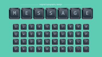 Black Keys Typografie