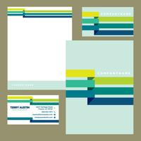 Colorful Business Stationery Template