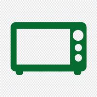 Microwave icon vector illustration