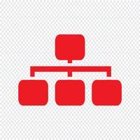 Simple diagram graph icon vector illustration