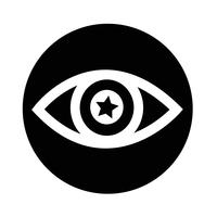 Sign of Eye icon