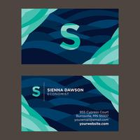 Blue Shades Business Card