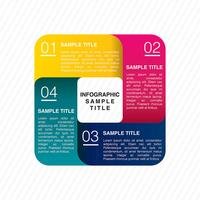 Kleurrijke zakelijke infographics
