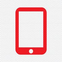 Icône de smartphone Illustration vectorielle