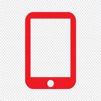 Smartphone icon Ilustração Vetorial