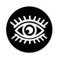Icono de signo de ojo