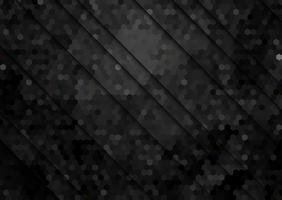 Fundo abstrato com padrão hexagonal