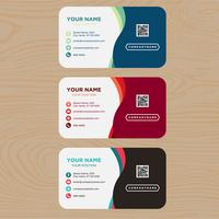 Colorful Business Card Collection vector