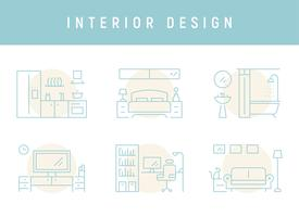 Interior design for each room.