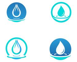 Water drop vector icon