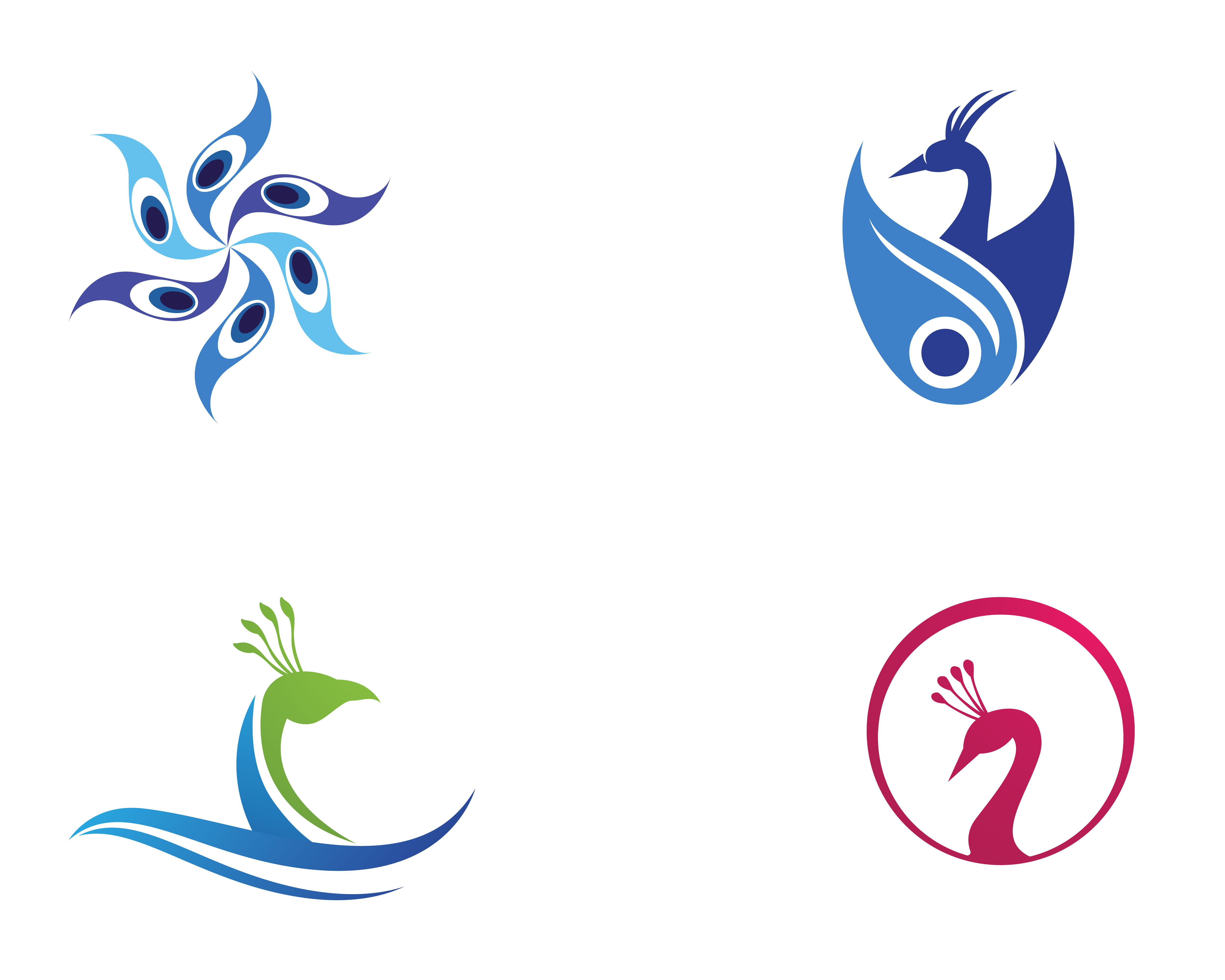 peacock head logo and symbols template icon app download free vectors clipart graphics vector art vecteezy