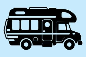 MotorHome Vector illustration