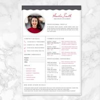 Vector Resume Template