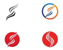lettera S Business aziendale logo design vettoriale