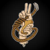 Rope And Hands