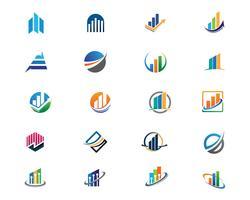 Modèle de logo de finance d'entreprise