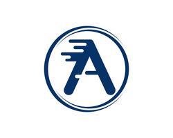 Een brief Logo Business Template Vector-pictogram