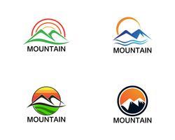 Minimalist Landscape Mountain logo design inspirations