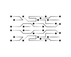 Concepto futuro abstracto de la tecnología de la ciencia digital.