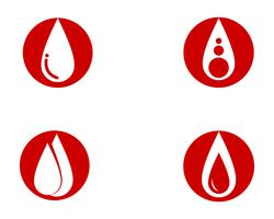 Blood vector icons