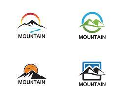 Inspiraciones en el diseño del logo de Minimalist Landscape Mountain